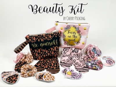 Beauty Kit by Cherry Picking - Panel für Kosmetikset - Focus on the Good